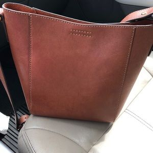 Frye Harness Bucket Crossbody shoulder purse